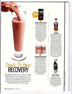 Best Recovery Drink for Triathletes